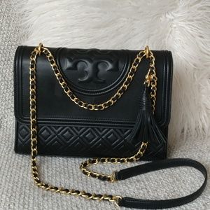 Tory Burch Flemming Convertable quilted Purse
